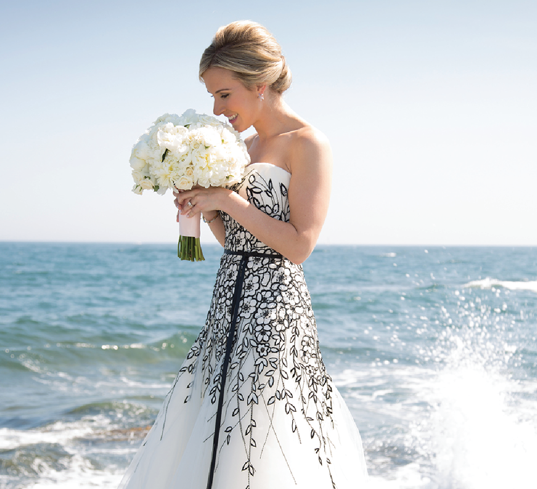 New England Summer Wedding by the Seashore