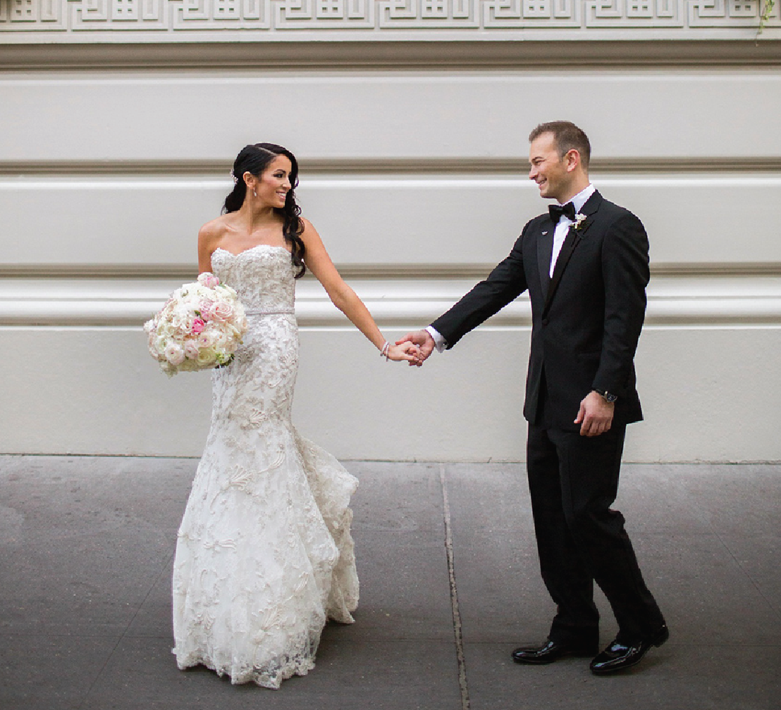 Glamorous Indoor Garden Wedding in New York City