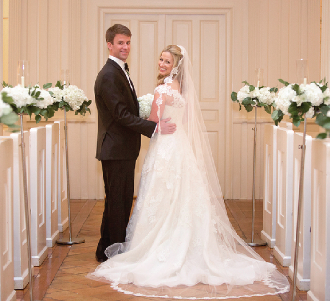 Charleston Wedding at Yeaman's Hall Club by Captured by Kate Photography