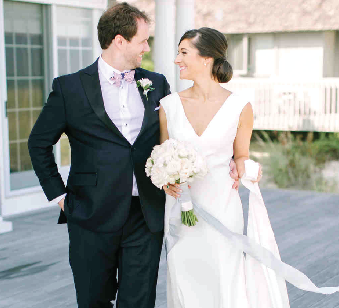 A Fun, Personalized Wedding at the New Jersey Shore