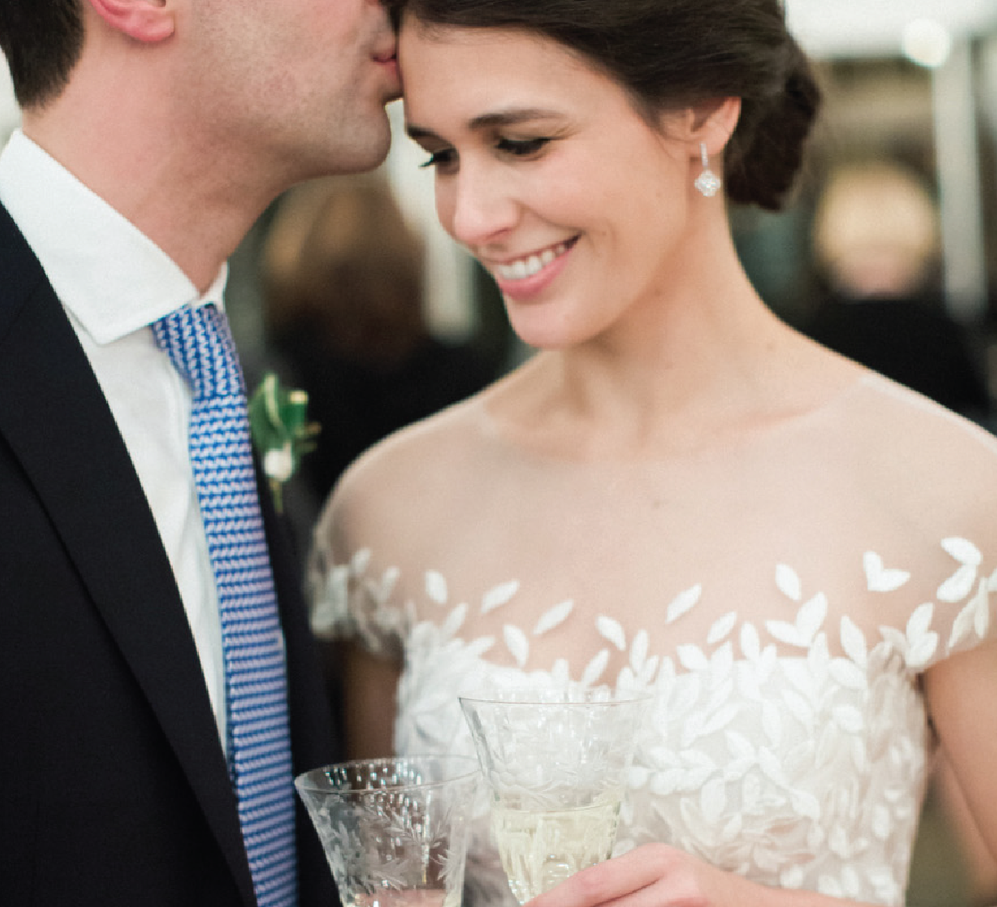 A New York Wedding With the Most Charming Venue