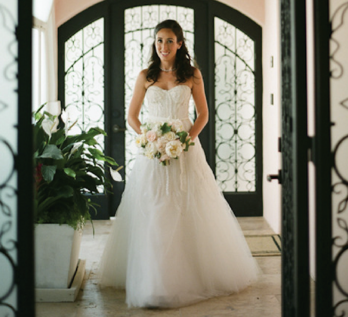 Bel Air Garden Wedding from Gia Canali Photography